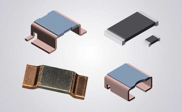 Image of Vishay's WSLP Power Metal Strip Resistors