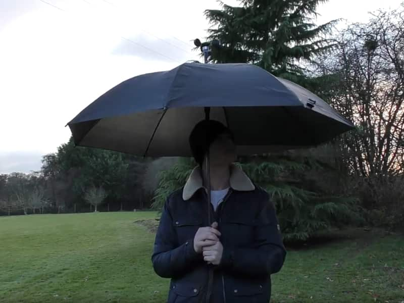Image of the Gentleman Maker Smart Umbrella
